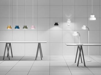 Ateljé Lyktan-Bumling mini -golvlampa