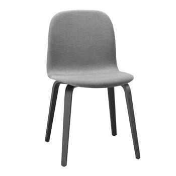 Muuto Visu chair ,wood base/ tygklädd ,2-pack