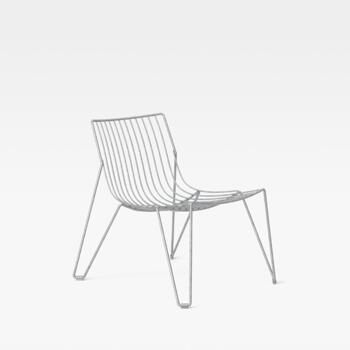 Massproductions Tio Easy Chair-loungestol-galvaniserad