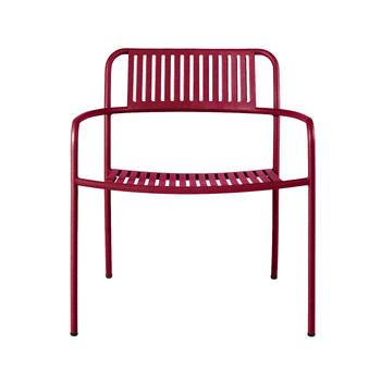Tolix-loungechair-Patio stripe