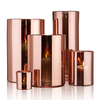 Skogsberg & Smart Hurricane lamp rosé