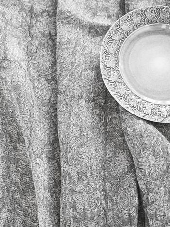 Chamois-linneduk-paradise -steel grey