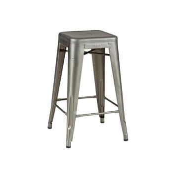 Tolix pall och barstol, lackad metall , 2-pack