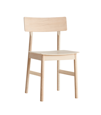 WOUD -stol med lädersits -Pause