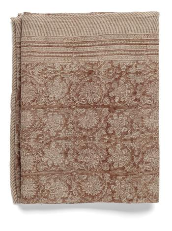 Chamois-linneduk-paradise -spicy red  170x270 cm