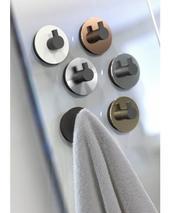 FROST badrumskrokar med sugpropp, 2-pack