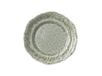 Sthål- Arabesque -assiette ,antik