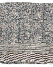NYHET Chamois-linneduk-paradise -blue