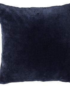 Chamois-kuddfodral-sammet-mörkblå