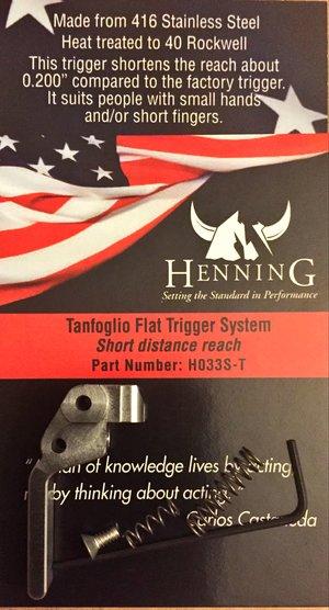 Henning Tanfoglio Flat Trigger System