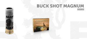 S&B kal 12/76 Buckshot 15pcs 53G 10 ptr V2116X2