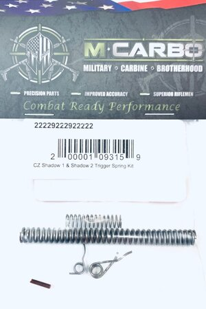 CZ 75 Shadow 1 & Shadow 2 Trigger Spring Kit