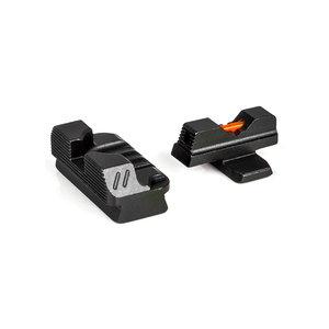 ZEV Sight Set, SIG Z320, P320  Fiber Optic Front, Black Rear