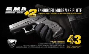 Strike lndustries Enhanced BK Magazine Floor Plate for Glock 43