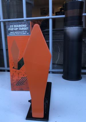 Champion 22LR Diamond Pop-Up STEEL Target
