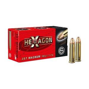 GECO .357 Magnum HEXAGON 180 Grain, 50 ptr