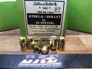 "Sellier & Bellot Kula .357"" 158G FMJ, 100 st"