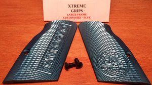 Tanfoglio XTREME Blue Grip LF Custom