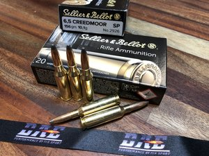 S&B 6,5 Creedmoor 156Grs/ 10,1G SP 20 ptr