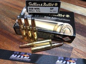 S&B  .308W 180Grs/11,7g SP 20 ptr