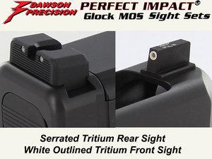 Dawson Glock MOS Sight Combo, Tritium