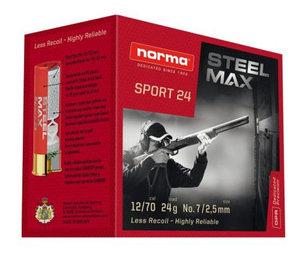 Norma STEEL MAX SPORT  24 gram 25 ptr