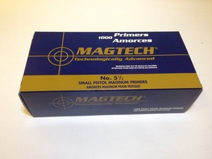 Magtech Sm Pistol Magnum Primer, 1000 st