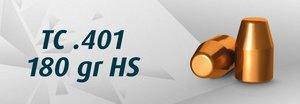 """HN .40"""" TC .401""""/180 Grain TC HS"""