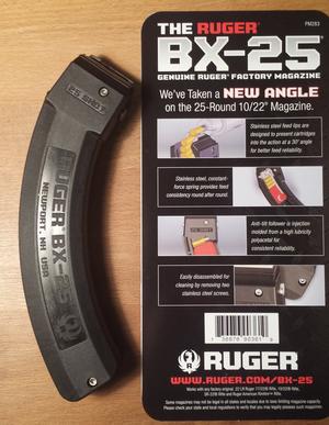 Magasin Ruger BX-25, 25 rd