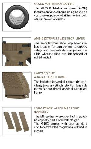 Glock 19X TB  (Gen5)