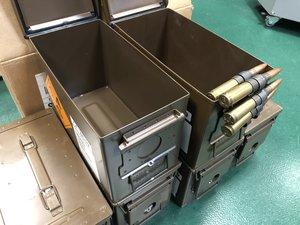 Ammunitionslåda till förvaring