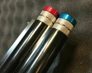 Billman Brushed steel mobil-choker för 12 Gauge