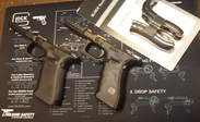 Glock Frame G22/31 Gen4 inkl beavertail SET