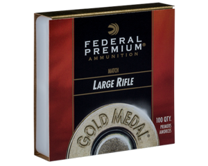 FEDERAL #210 Large Rifle Gold Match Primer