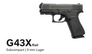 Glock 43X FS BLACK