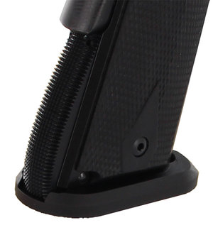 Dawson 1911 Single Stack IPSC Magwell, Arched ALU BLK