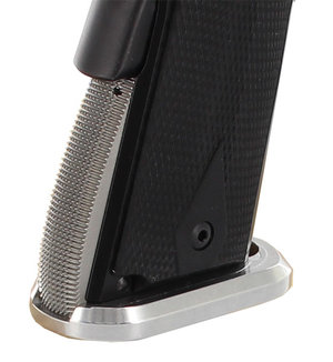 Dawson 1911 Single Stack IPSC Magwell  Arched ALU Silver