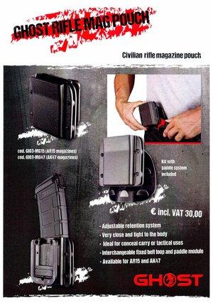 Ghost Civilian RIFLE Magazine Pouch AR15