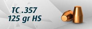 """2000 st HN .38"""" TC .357"""" / 125 Grain TC HS , BULK"""