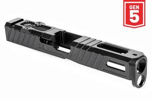 ZEV Z17 Gen5 Omen Stripped Slide with RMR Plate, 5th Gen, Black