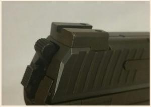 Battlehook Rear Sight H&K SFP9 / P30 / 45