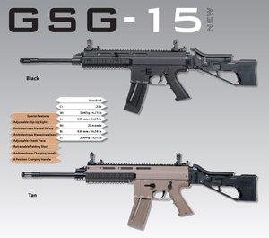 Magasin GSG-15 .22Lr, 22rd