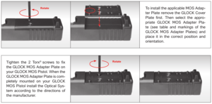 Glock MOS Adapter set 01