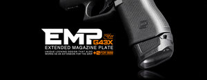 Strike Industries Extended Magazine Plate for Glock 43X