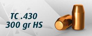 "HN 44"" TC .430"" / 300 Grain TC HS, 250st"
