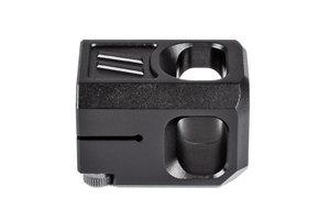 ZEV PRO Compensator V2,  13,5x1 LH Threading, 9mm, Black