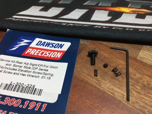 Service Kit for Dawson Rear Sight Bo-Mar style