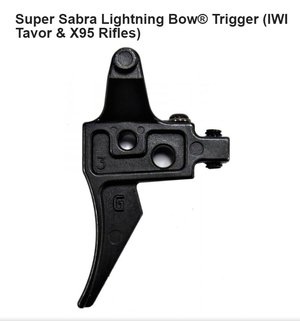 Geissele Super Sabra Lightning Bow Trigger for IWI Tavor