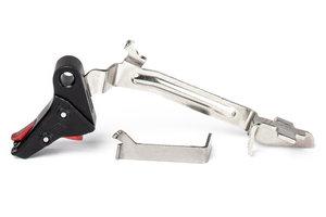 ZEV PRO Flat Face Trigger Bar Kit, Small, Blk/Red