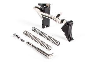 ZEV Fulcrum Adjustable Trigger Ultimate Kit, Gen1-3 Blk/Blk